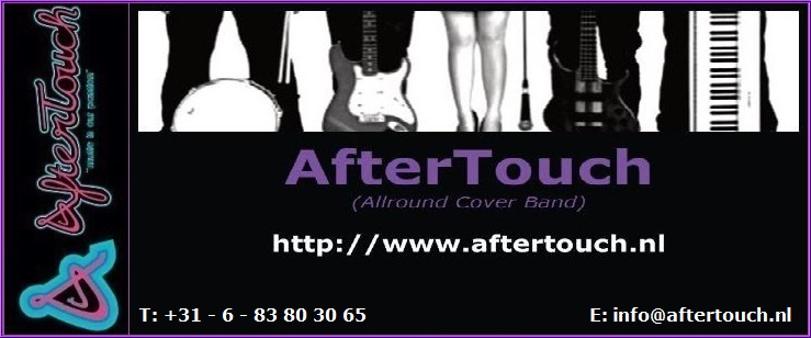 AfterTouch (Allround Cover Band) -> (Klik op de foto om te vergroten en/of te downloaden...)
